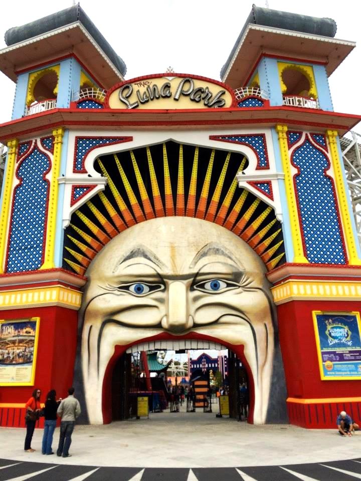 Luna Park - St. Kilda, Melbourne, Victoria