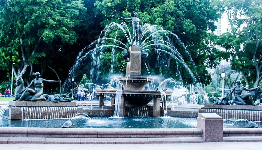 Archibald Fountain - Hyde Park - Sydney, New South Wales