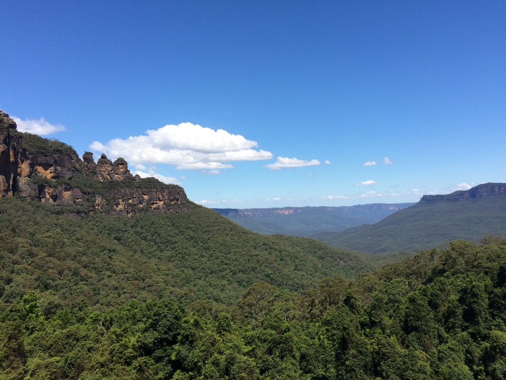 The Blue Mountains - Katoomba, New South Wales