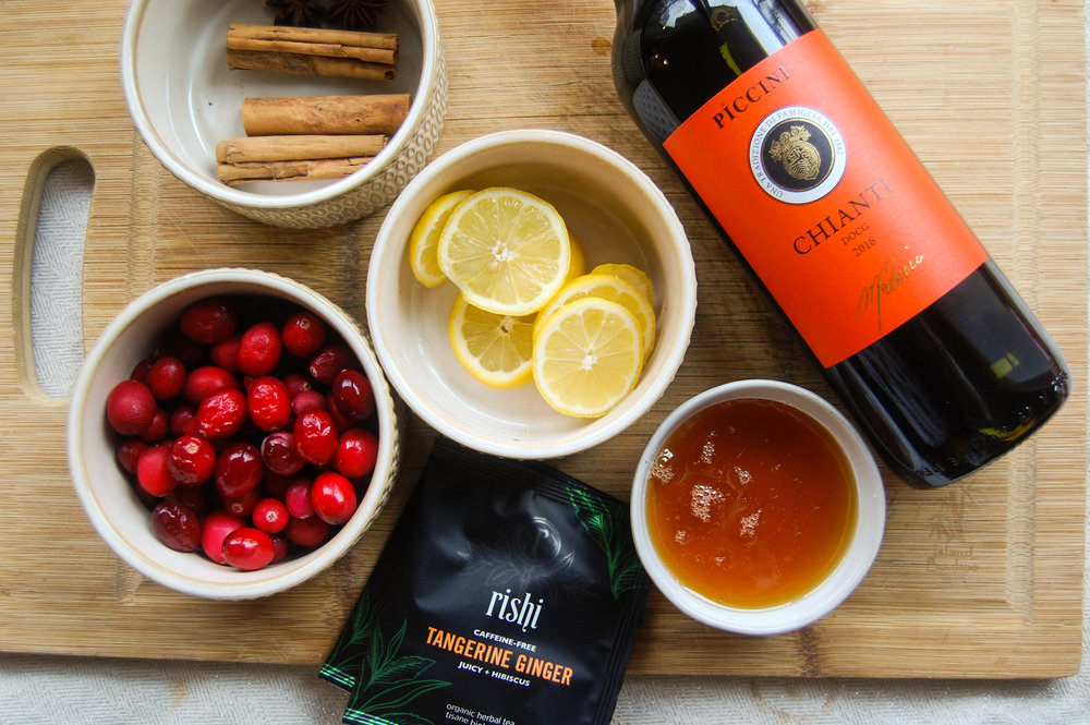 Tea Infused Mulled Wine Tea Thoughts