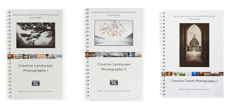 Creative Landscape and Travel Photography -Teaching books