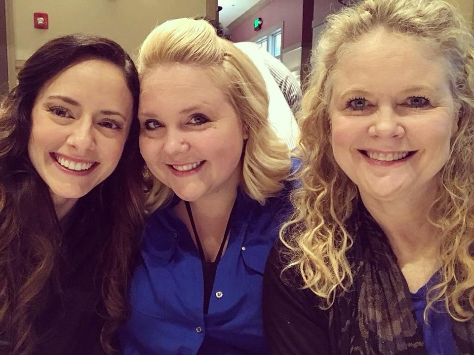 Meet the co-hosts: Amber, Summer & Melissa (from left)