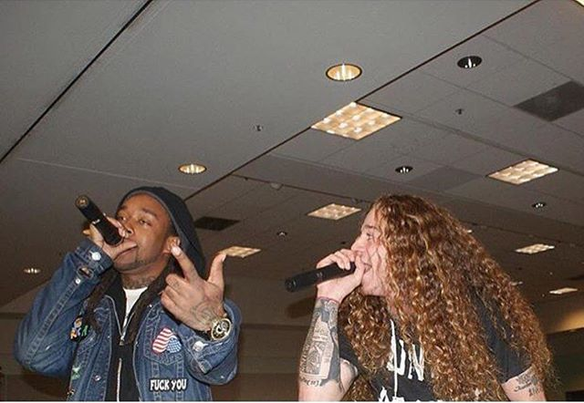 #tbt me & bro @tydollasign doing what we do best