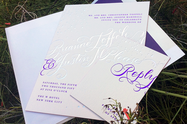 Bella Figura invitation Gilded Romance