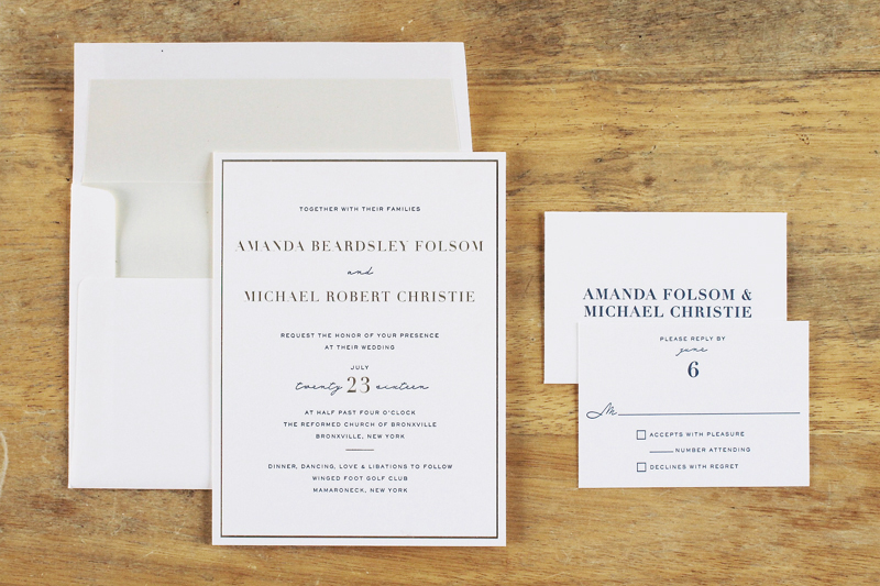 modern elegant navy and gold wedding invitations the windmill