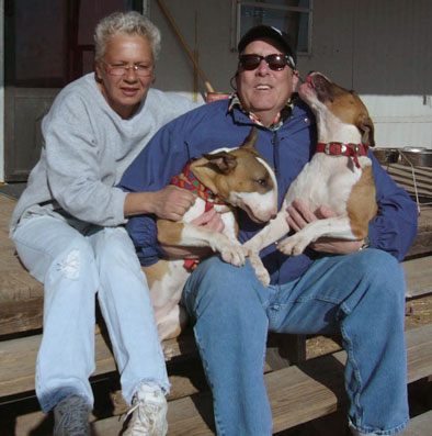 Adopting Hector - Bill & Roxy with Renee