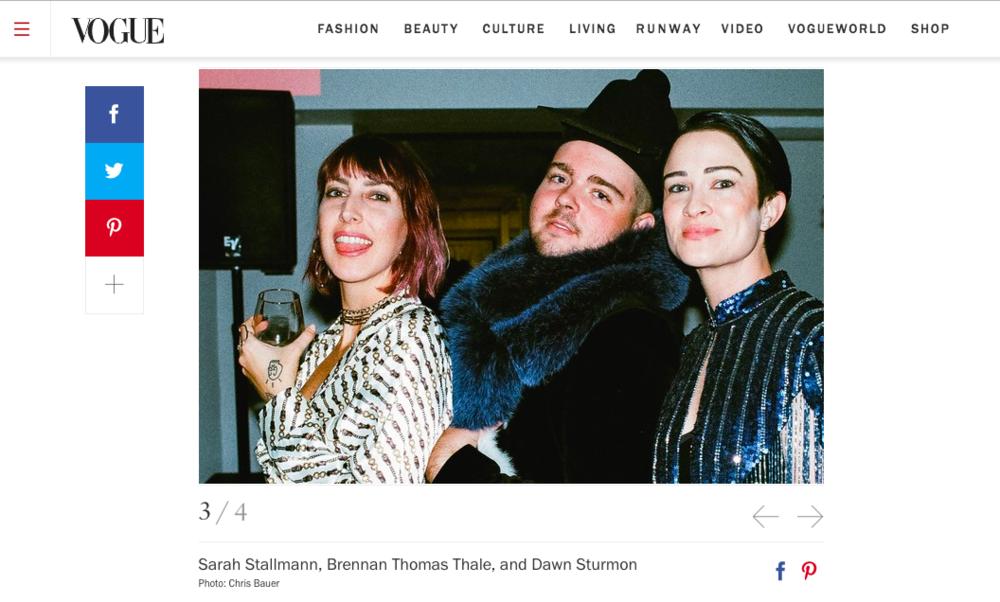 Saint Louis Fashion Fund x Saint Louis Art Museum featured in VOGUE Magazine