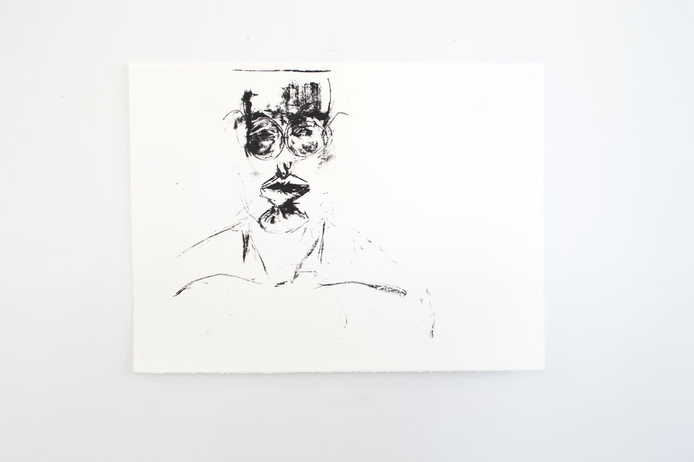 Who is this   Screenprint  2015