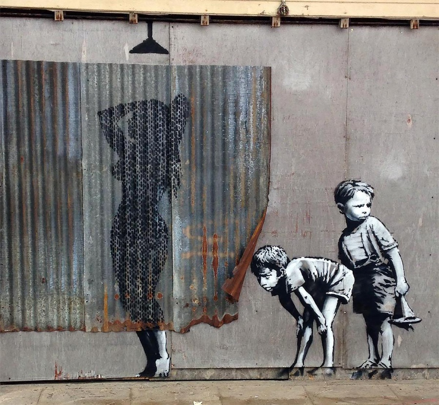 and who doesn't like some Banksy?