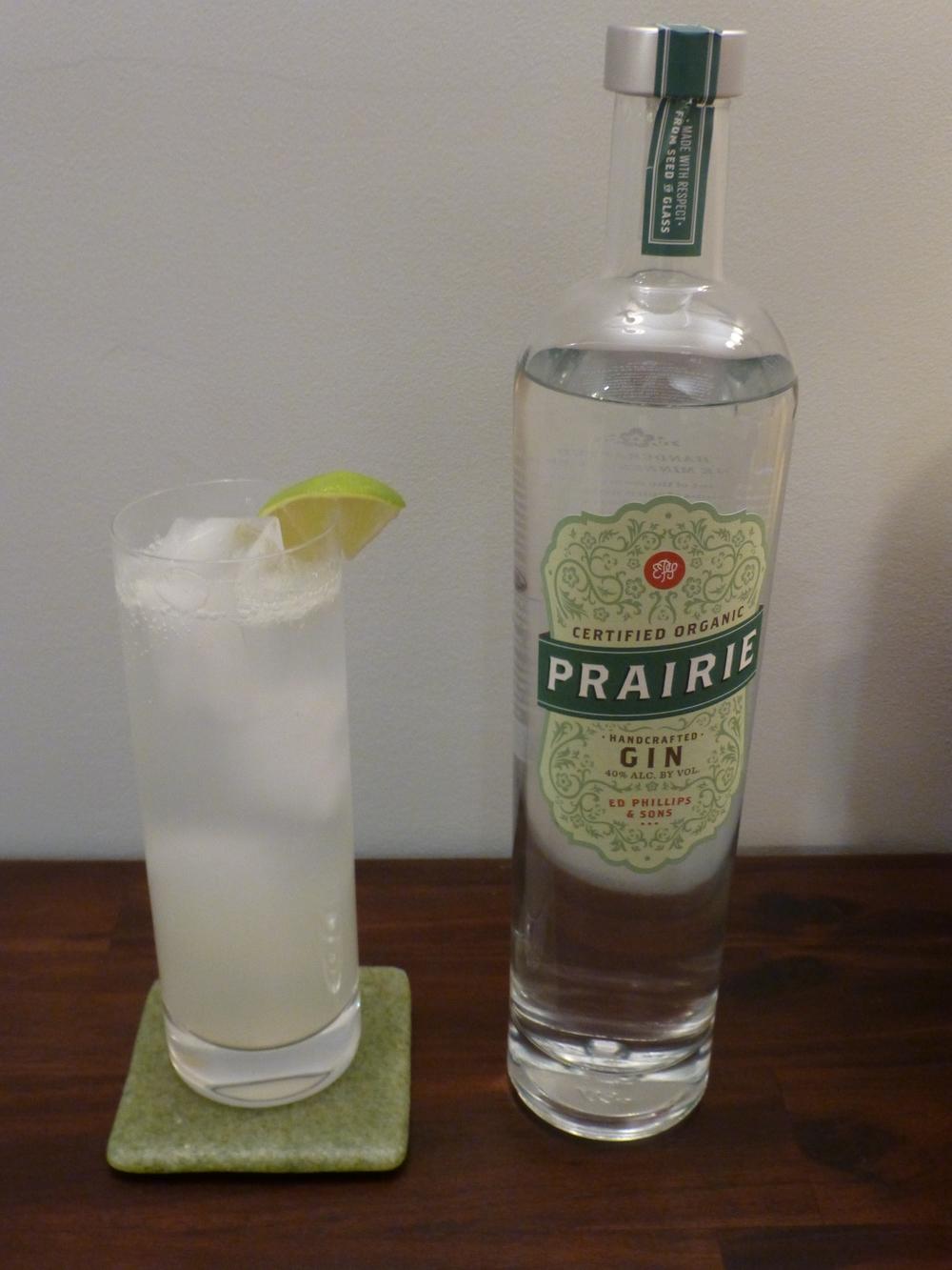 Parents: Gin Rickey with Prairie Organic Gin