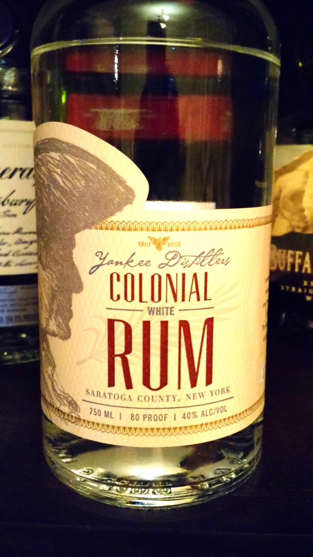 Yankee Distiller's Colonial Rum