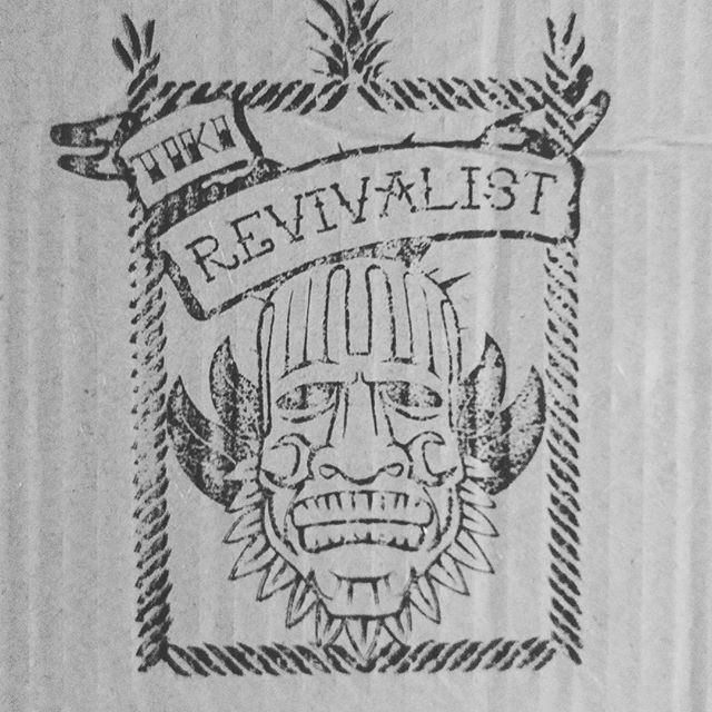 Look what came in the mail! Thanks #tikirevivalist, killer packaging!