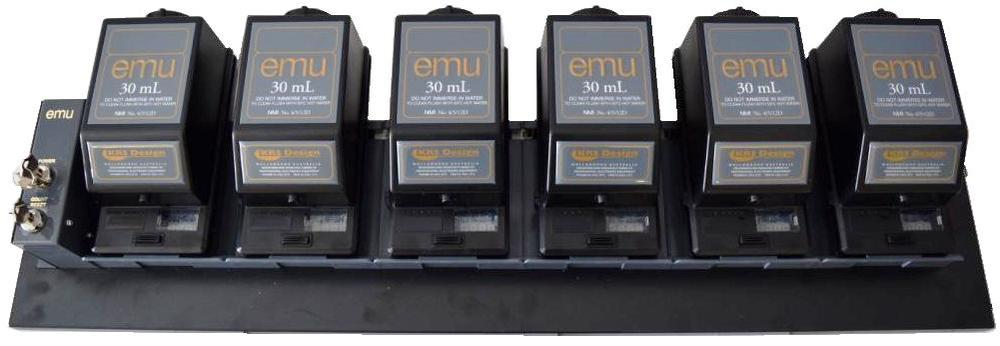 6 Way EMU System 30mL Black