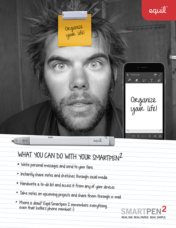 """""""Organize Your Life"""" Ad Campaign"""