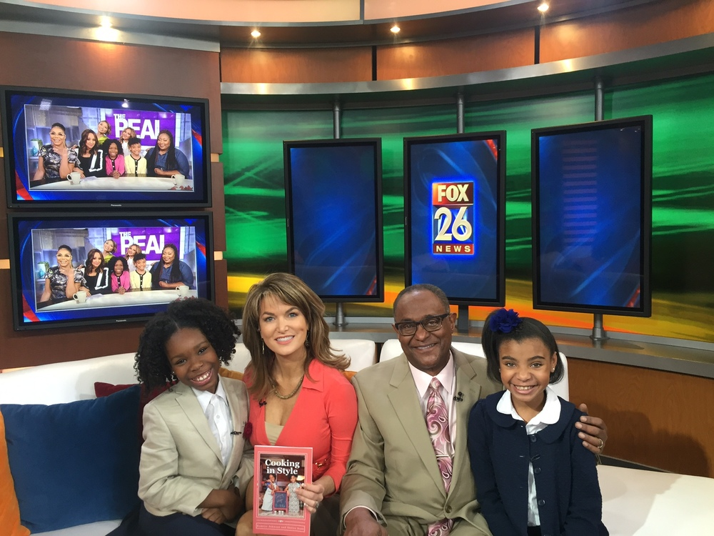 "Kam & Niya ""Cooking in Style"" Interview with Fox 26 Houston"