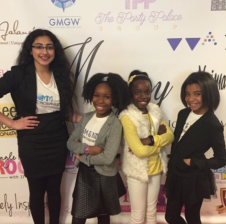 Kam & Niya present at the Mommy & Me Expo