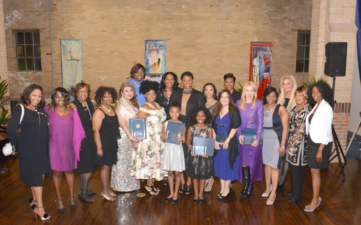 Women History Month Sweet 16 Honorees at Buffalo Soldiers Museum