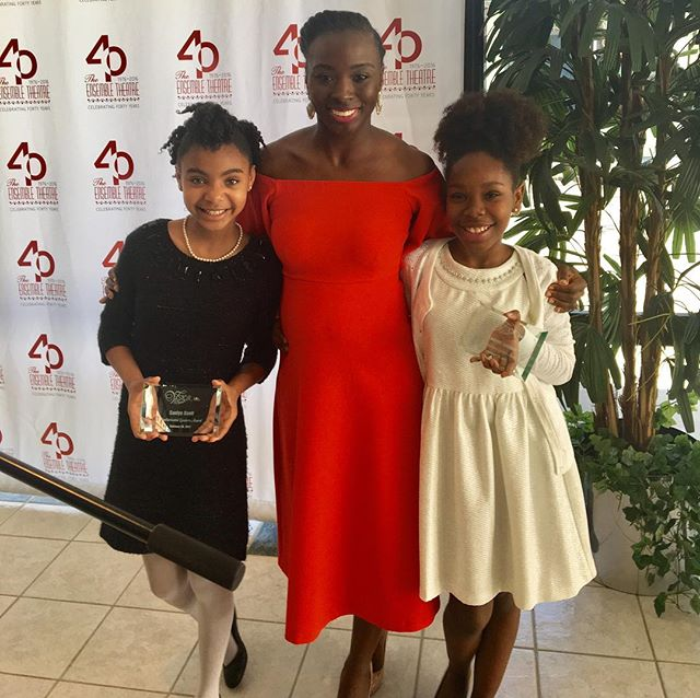 Thank you @virtuousstar for recognizing @kamryn_johnson and @saniyasymone for the Sophisticated Leaders Award. We will continue to encourage our peers to be driven, confident, and to never give up.  KamAndNiya #SophisticatedLeaders #Kidpreneurs #Goals #KidAuthors