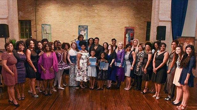 This was 1 yr ago today! We were so honored to be recognized along with so many other powerful women in Houston! #Sweet16 #InternationalWomensDay