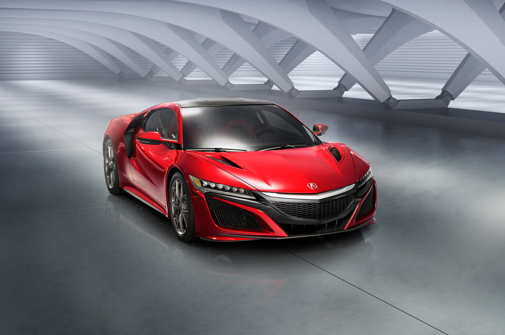 NSX builder - Car builder microsite for the launch of the 2016 Acura NSX. art direction / interactive design / UX