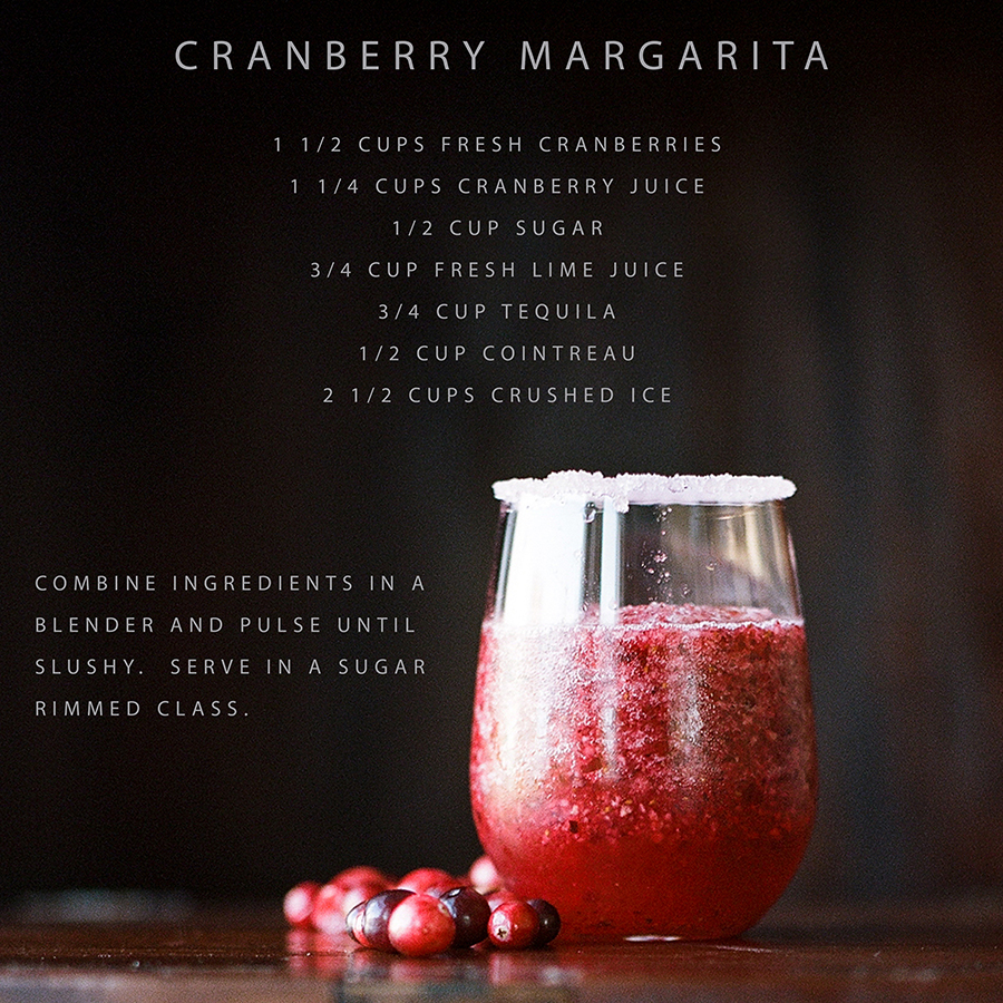 Cranberry Margarita by Sandra Coan on Little Bellows