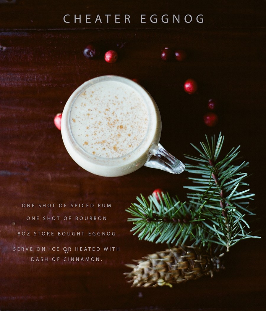 Eggnog by Sandra Coan on Little Bellows (image shot on film)