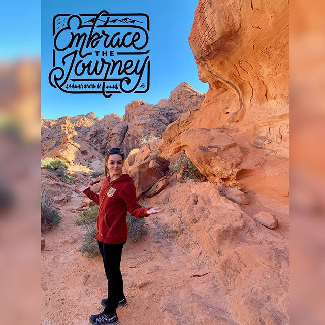 Walking the trails of Valley of Fire in Nevada🏜 . . God's majesty on full display. Vibrant rock formations created over time with the assist of water, sand and wind💧🌬🌄 . . . #aroundtheworldinkatiedays #stateparks #nationalparks #nationalparkgeek #valleyoffire #valleyoffirestatepark #hikingadventures #ontheroadagain #roadlesstravelled #adventurejunkie #fitnessgirl #nationalparklife #nationalparksusa #nationalparkgeek #geekfitness  @nationalparkservice