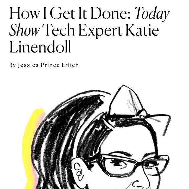 What an honor to be featured on @thecut! Link in bio 👩🏻‍💻 . . #aroundtheworldinkatiedays #techgirl #techielife #geeklife #geekstyle