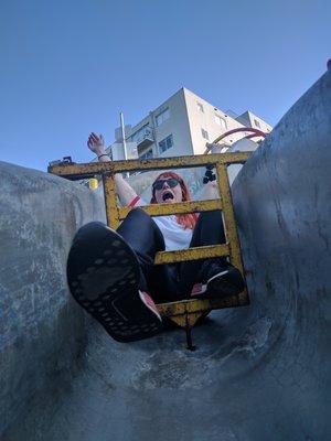 Seward Street Slides: locked