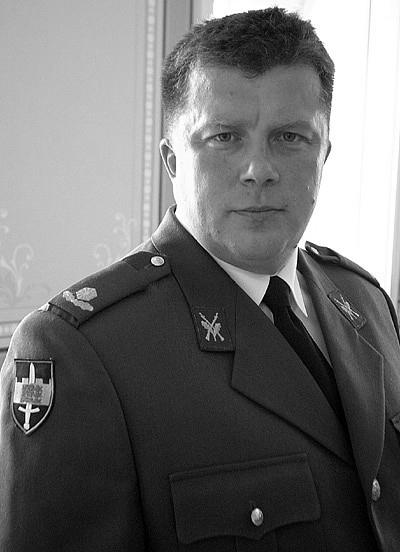 Meelis Kiili - Kaitseliidu ülemVari:Martin Põdra