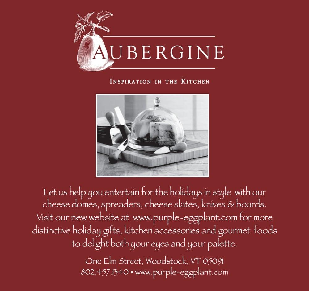 Print Ad for Aubergine Kitchen Store