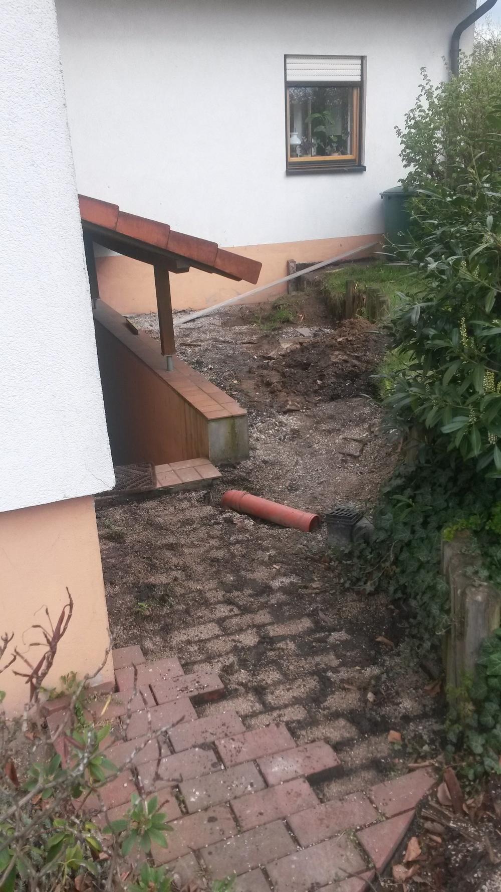 der Kellerabgang