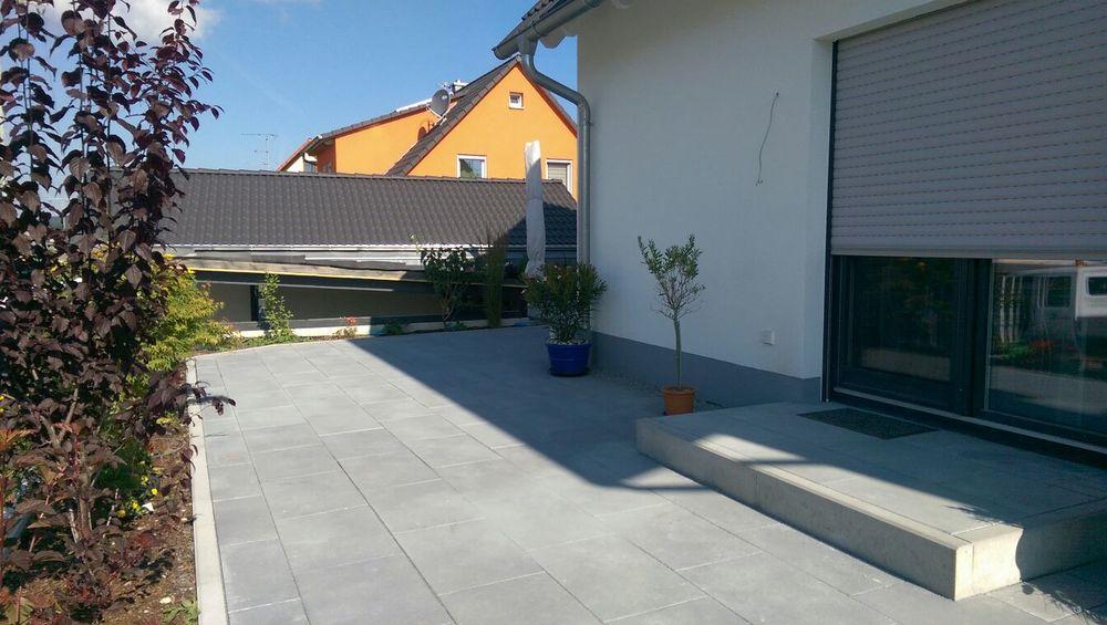 Eine Terrasse in Igensdorf