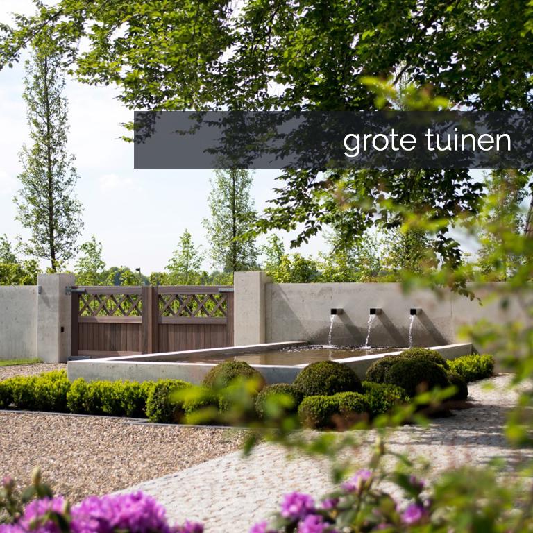 Button grote tuinen