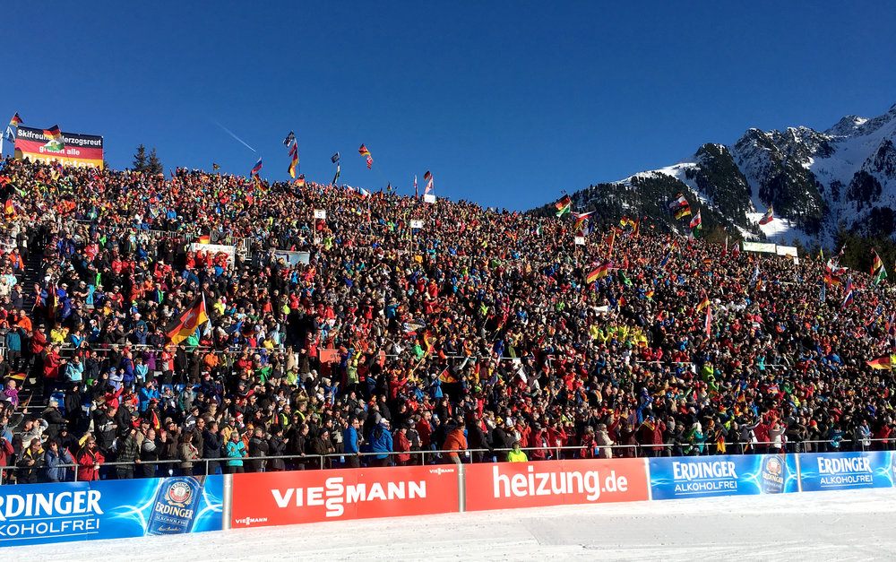 Biathlon Antholz, a wonderful place with a super event
