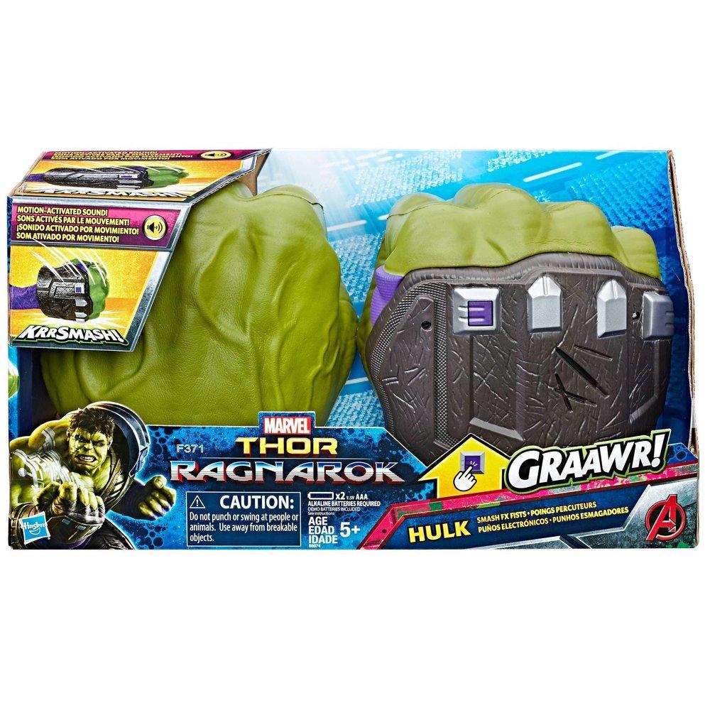 Marvel Thor: Ragnarok Hulk Mask and Smash FX Fists 1.jpeg