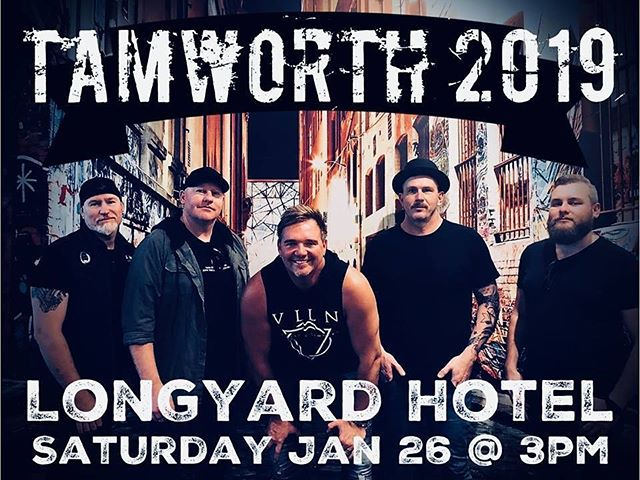 TAMWORTH 2019 One Show Only !! HOPE TO SEE YOU THERE GUYS !! TK 🤠👍🏼🎸🎤🍺 #troykemp #tamworthcmf2019 #longyardhotel