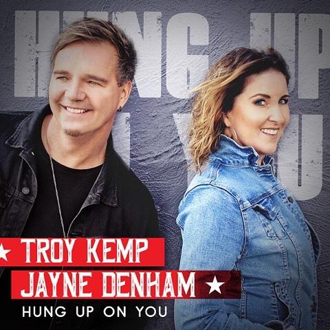 New single coming next week guys !! Listen out on KIX Country !! Boom !! #troykemp #jaynedenham #hunguponyou #somethingaboutaphone #redenginerecording