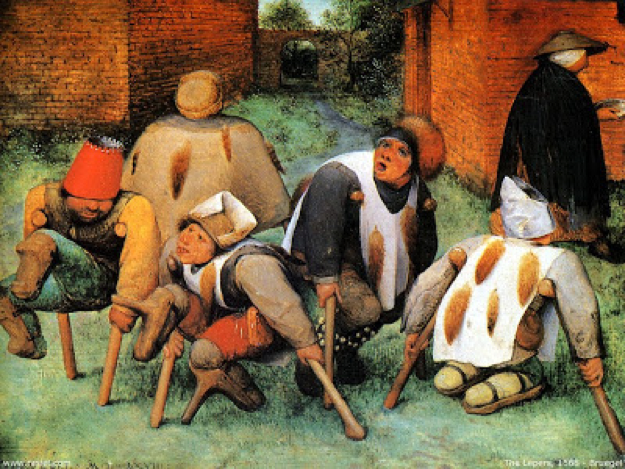 Pieter Bruegel the Elder, The Lepers, 1568