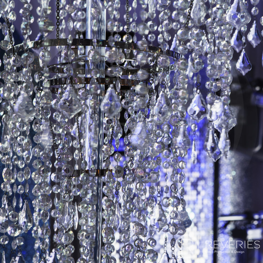 Snowman Spectacular 2016 - Giant chandelier detail