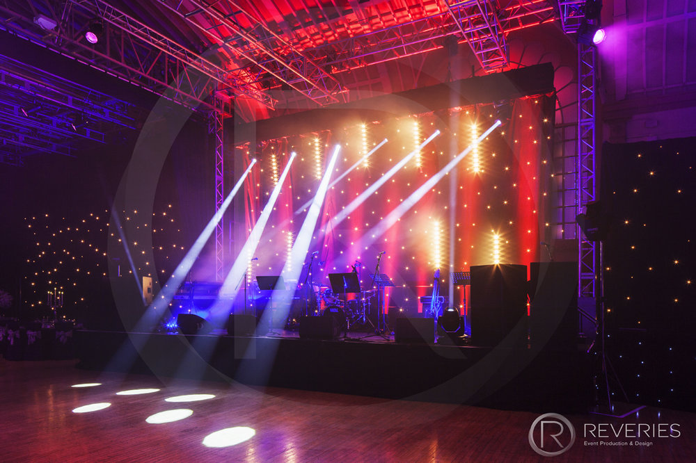 Gala Dinner - Spot Lights for stage and dancefloor