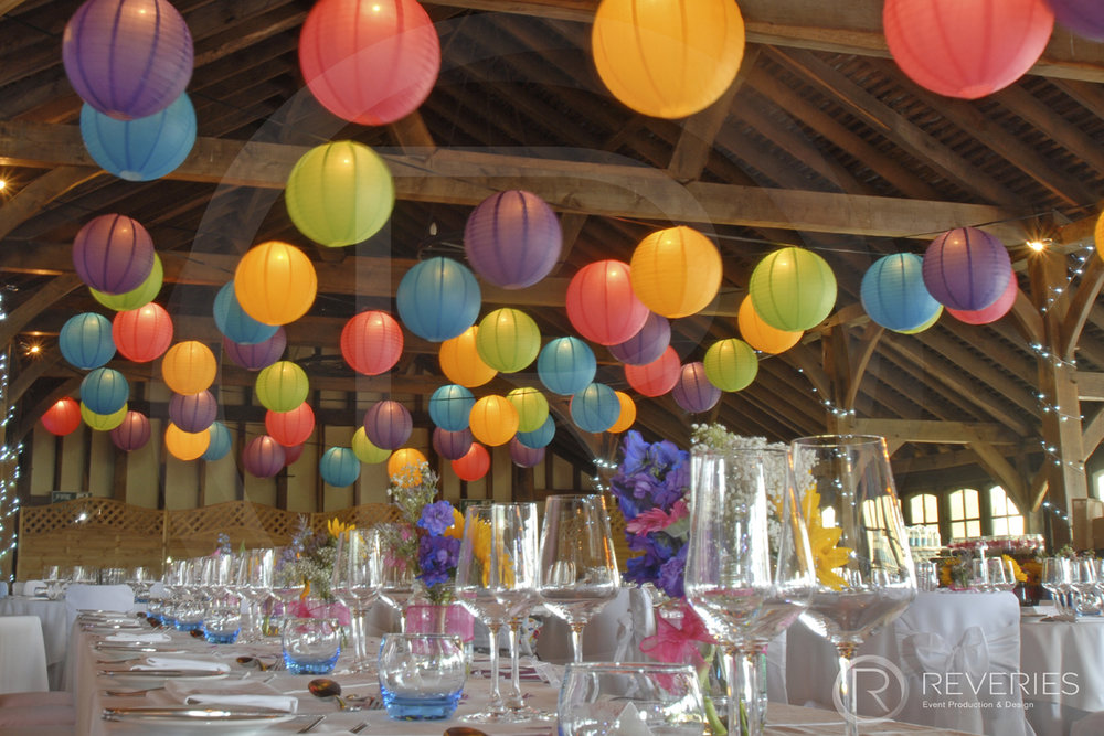 Wedding Decor Lighting Paper Lanterns