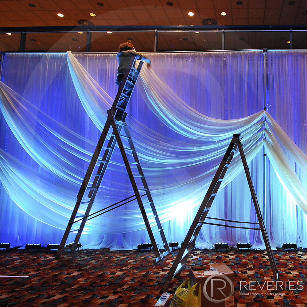 Drape Hire Corporate Shows Brighton London
