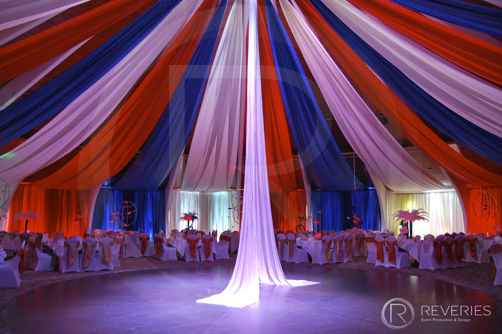 Venue Draping Aerial Acrobatics Corporate Brighton London