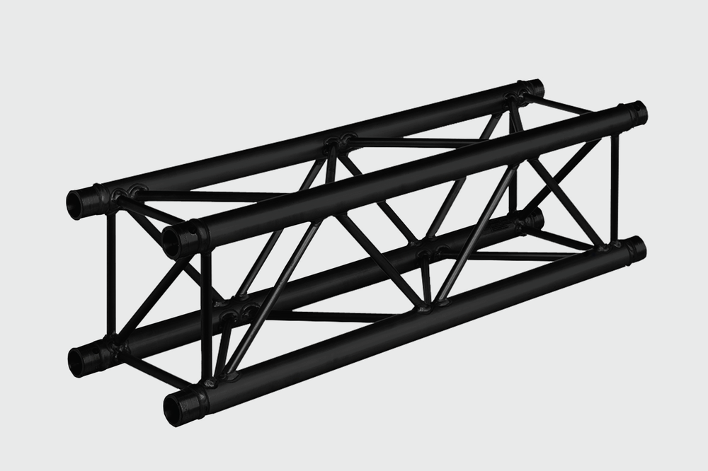 MILOS QUAD TRUSS - BLACK 1M M290B - £10.00 DAILY / £20.00 WEEKLY