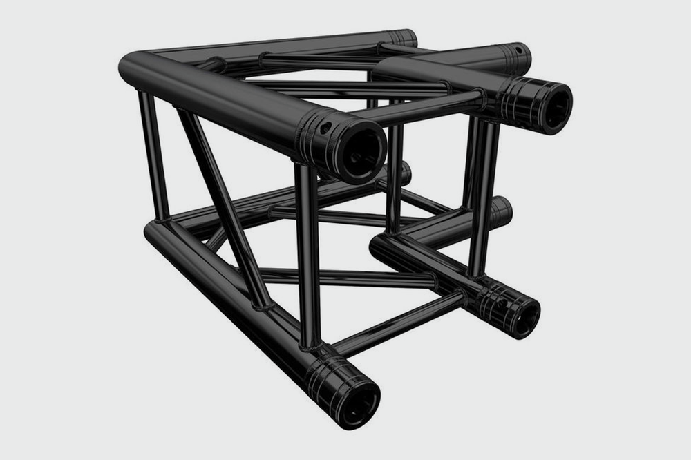 MILOS QUAD TRUSS - BLACK CORNER M290B - £10.00 DAILY / £20.00 WEEKLY