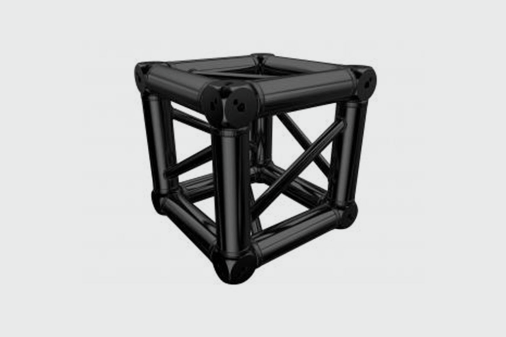 MILOS QUAD TRUSS - BLACK - MULTICUBE - £20.00 DAILY / £40.00 WEEKLY