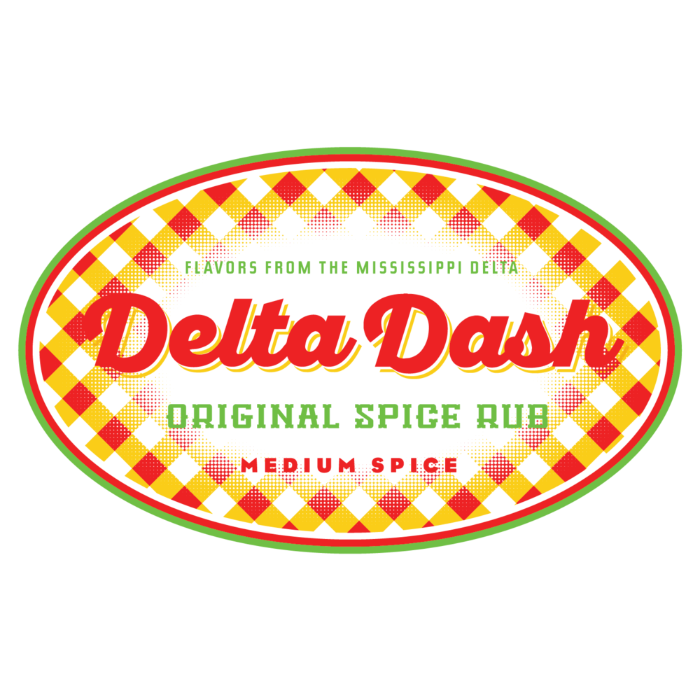 Delta Dash, logo and product label