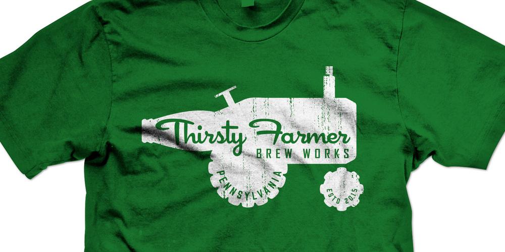Thirsty Farmer Brand Identity