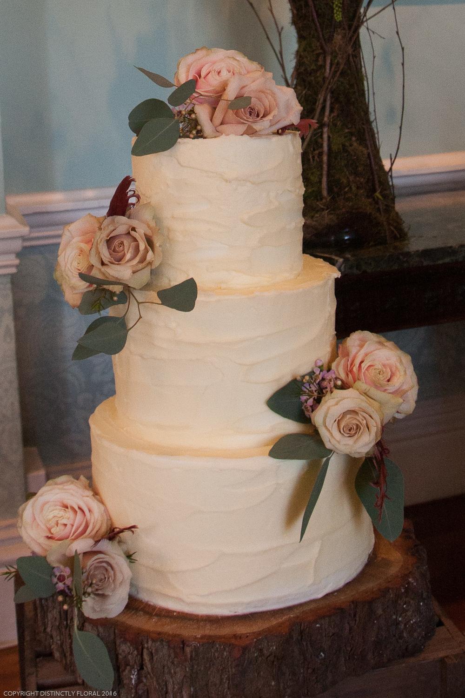 Crusting Buttercream For Wedding Cake